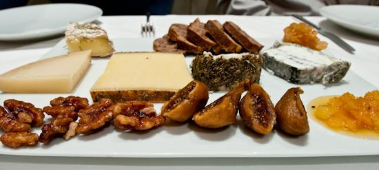 Providence - Market Cheeses (Olivet, Lourey, Gruyere de Comte, Fleur de Marquis, and Sofia)
