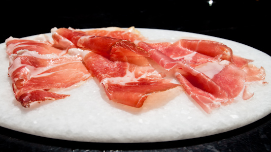 The Bazaar By Jose Andres - Fermin sample (cured ham sampler)