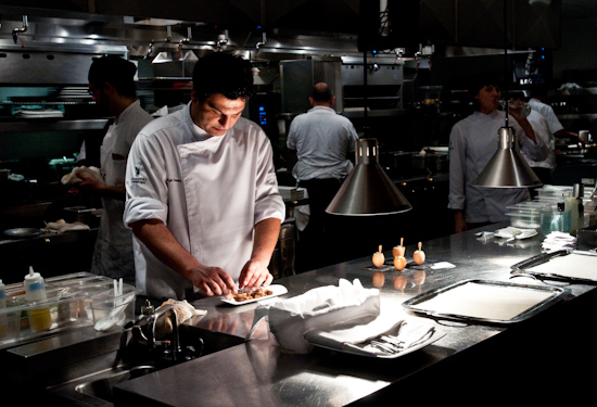 The Bazaar by Jose Andres - The Kitchen Winding Down After a Busy Evening
