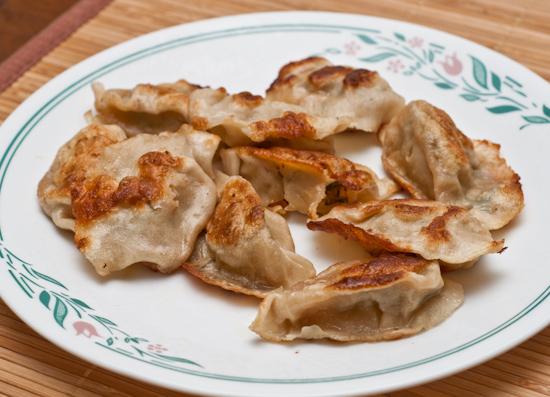 Leftover Dumplings