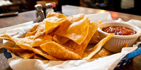 Back Spin - Chips & Salsa