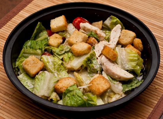Leftover Costco Chicken Caesar Salad