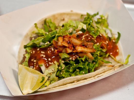Chi'Lantro - Beef Taco