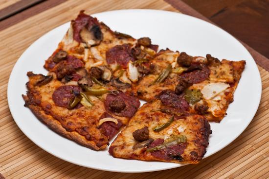 Leftover Domino's Pizza