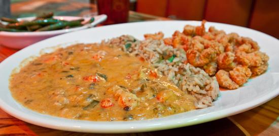 Joe's Crab Shack - Crawfish Half & Half