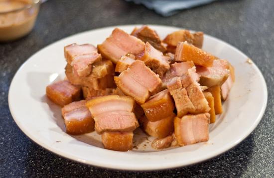 Sous vide get together - pork belly