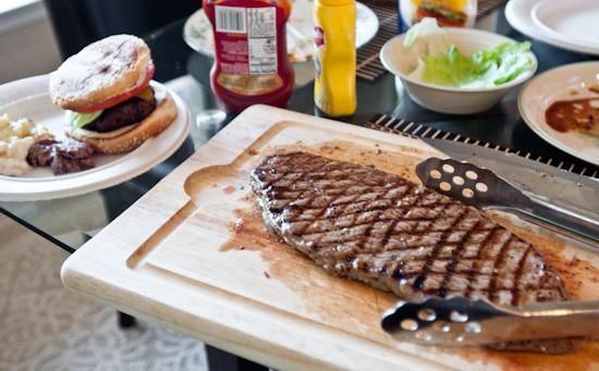 Flank Steak at Braden's BBQ Party