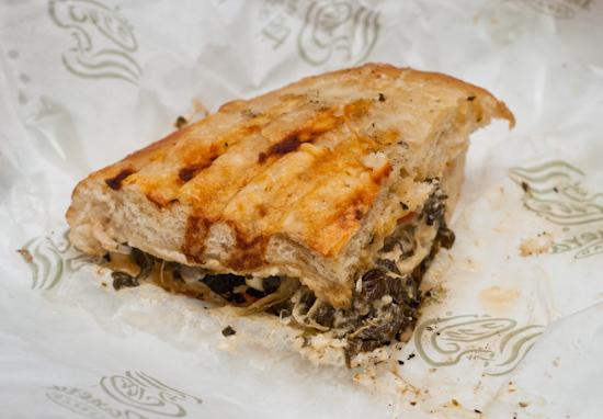 Panera Bread - Half Turkey Artichoke Sandwich
