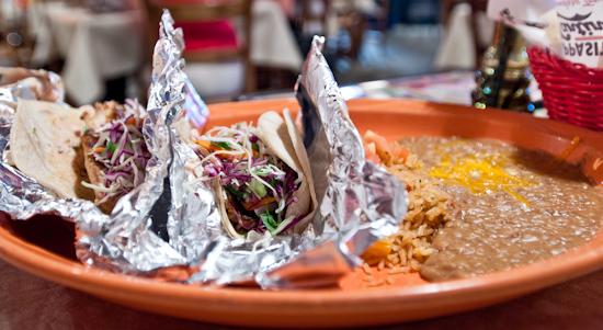 Pappasito's Cantina - Fish Tacos
