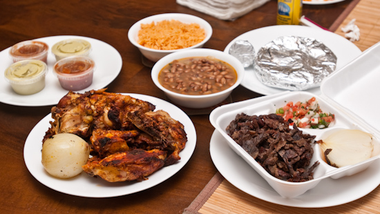 El Pollo Rico - Whole Chicken and Carne Asada