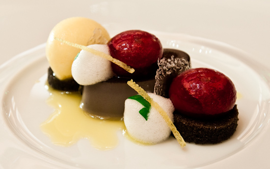 Le Bernardin - Black Sesame-Cherry