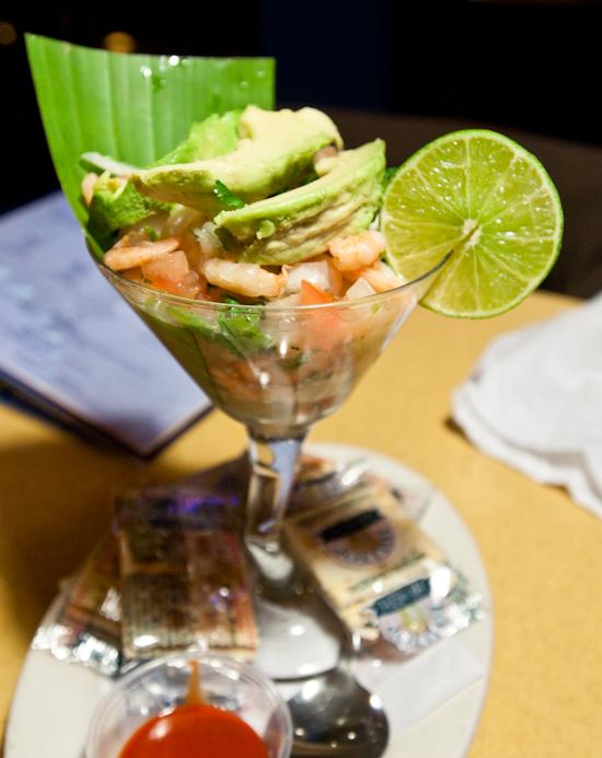 Azul Tequila - Ceviche Costeno