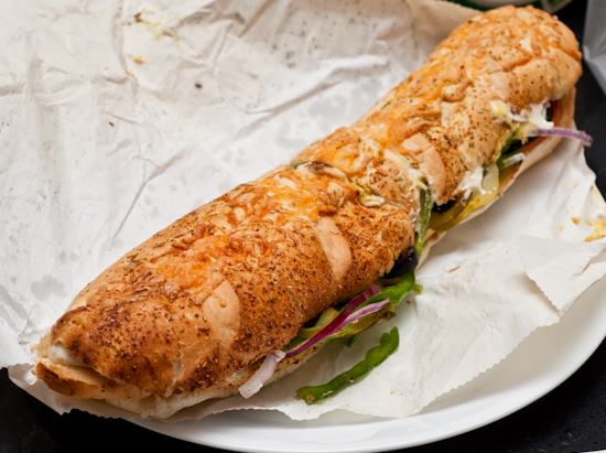 Subway - Oven Roasted Chicken Breast on Italian Herbs and Cheese