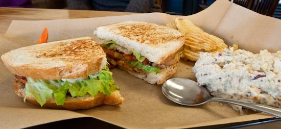 The Noble Pig - BLT sandwich