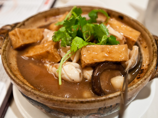 Fortune Seafood Chinese Restaurant - Assorted Seafood Claypot