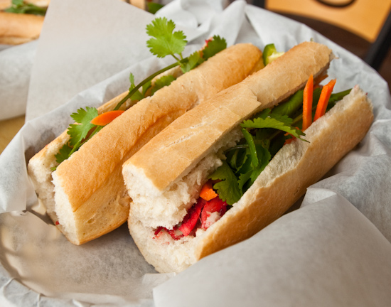Baguette House - BBQ Pork Sandwich