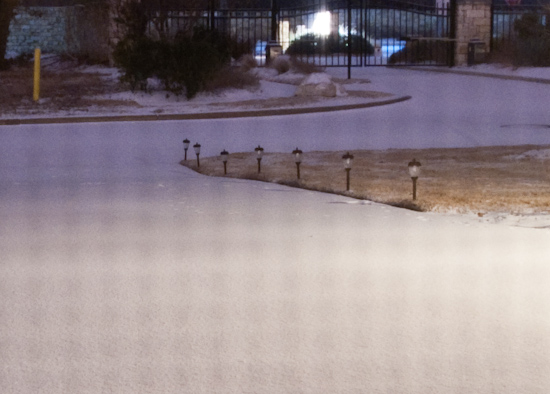 Snow - Super Closeup
