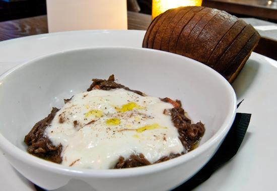 Congress - Burrata - Oxtail Marmalade - Buttered Brioche