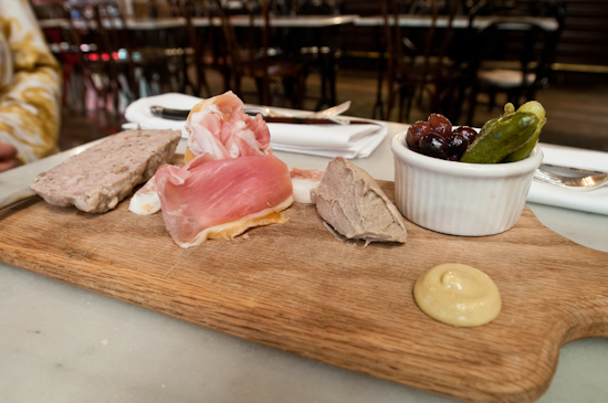 Justine's - Charcuterie Plate
